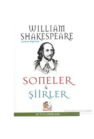Soneler Şiirler-William Shakespeare