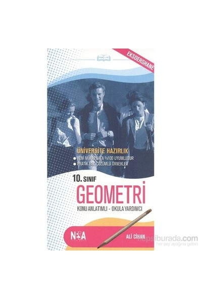 Nesa 10. Sınıf Geometri (cep boy)