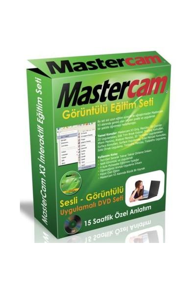 Mastercam X3 Görüntülü Eğitim Seti (1 Dvd)