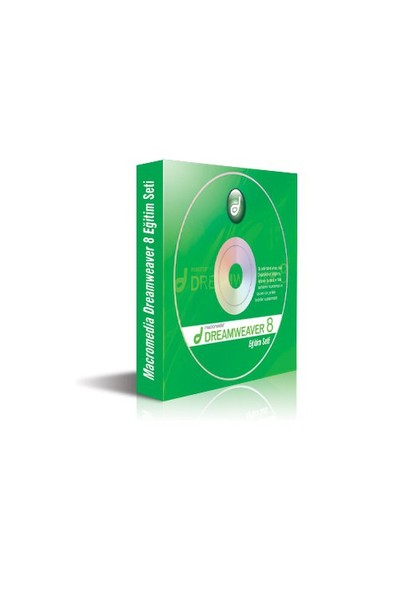 Macromedia Dreamweaver 8 Eğitim Seti (4 Cd)