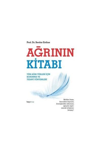 Ağrının Kitabı-Serdar Erdine