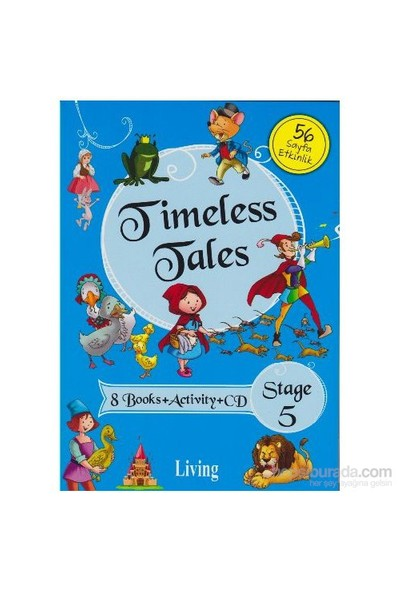 Stage 5: Timeless Tales 8 Kitap Set-Kolektif