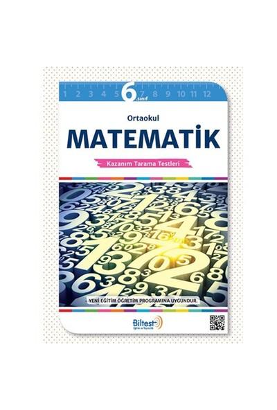 Biltest Yayınları 6. Sınıf Matematik Konu Tarama Testi