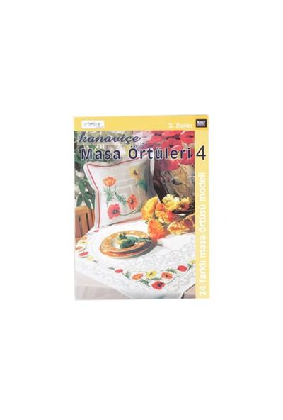 Tuva Yayıncılık Kanaviçe Masa Örtüleri 4 Nakış Dergisi-Kolektif