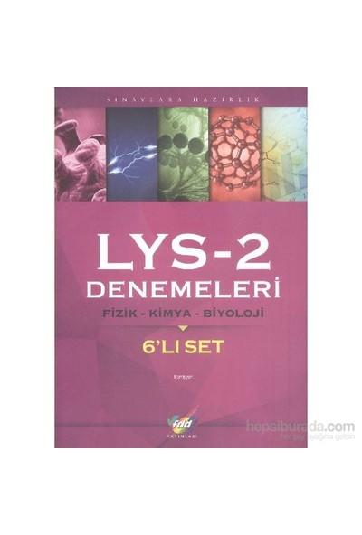 Fdd Lys 2 Denemeleri Fizik Kimya Biyoloji (6'Lı Set)-Kolektif