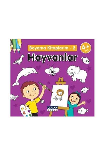 çamlıca çocuk Yayınları çocuklar Için Boyama Kitapları Hepsiburadacom