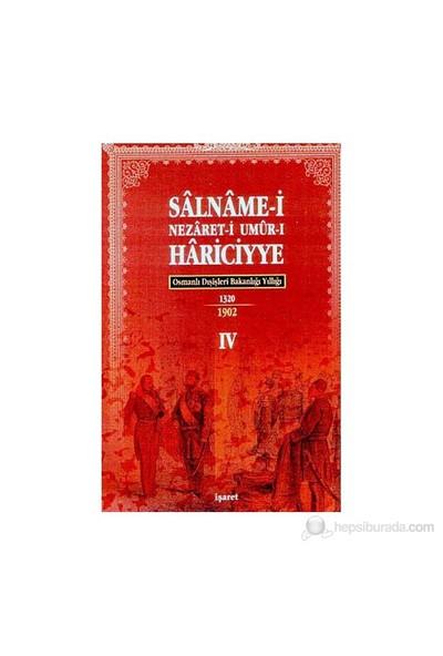 Osmanlı Hariciye Salnameleri (4 Kitap Takım-Ciltli)-Kolektif