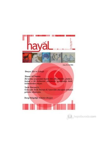 Hayal Kültür Sanat Edebiyat Dergisi Sayı: 37