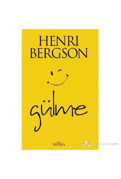 Gülme-Henri Bergson