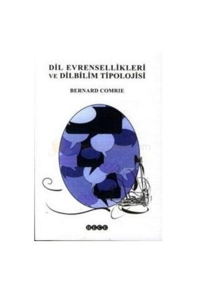 Dil Evrensellikleri Ve Dilbilim Tipolojisi-Bernard Comrie