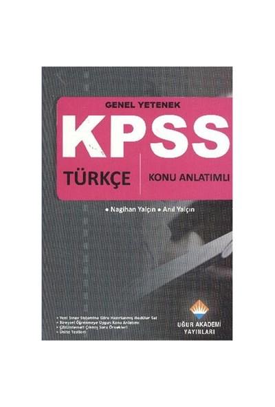 Uğur KPSS Genel Yetenek (Türkçe) Konu Anlatımlı