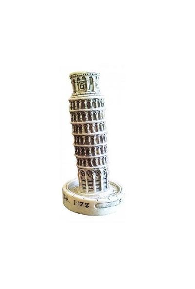 Akvaryum Fanus Dekoru Pisa Kulesi D-393