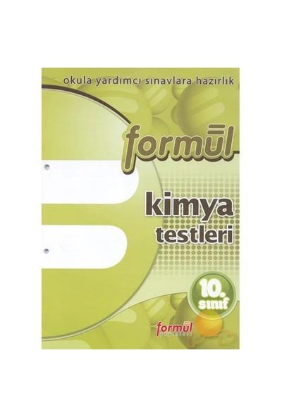 Formül 10. Sınıf Kimya Yaprak Testleri