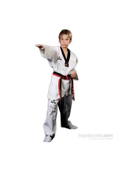 Daedo Taekwondo Elbisesi Siyah Yaka
