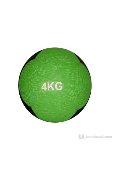 Delta Sağlık Topu Zıplayan 4 Kg Yeşil/Siyah - DST 7554