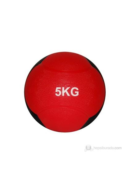 Delta Sağlık Topu Zıplayan 5 Kg Kırmızı/Siyah - DST 7555