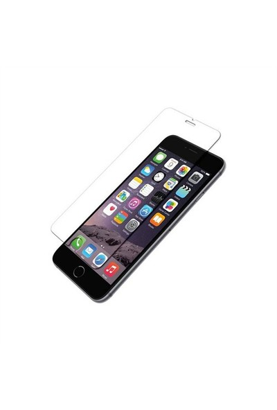 Addison Ip-B2 Tempered Glass 0.3Mm Siyah İphone 6S Plus Cam Ekran Koruyucu