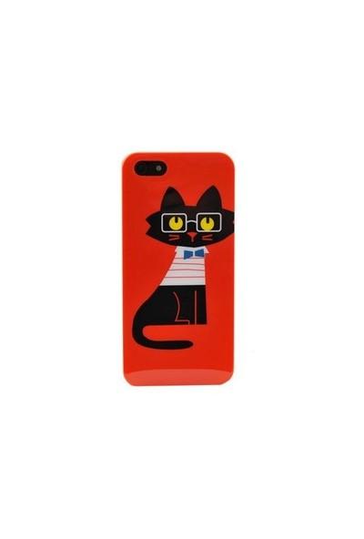 Duck Apple iPhone 5 Smartcat Hard Case Kapak
