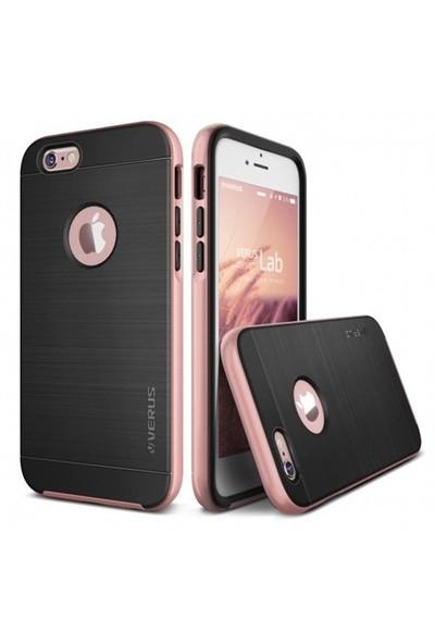 Verus İphone 6 Plus 6S Plus Kılıf High Pro Shield Series Rose Pembe