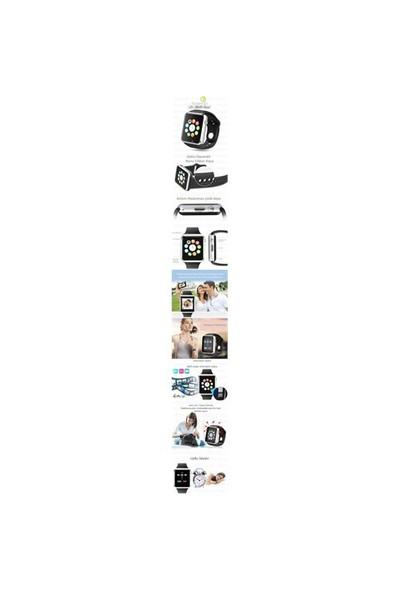 Fonemax Samsung İphone Sony Lg Htc A1 Akıllı Saat (Ios Ve Android Uyumlu)