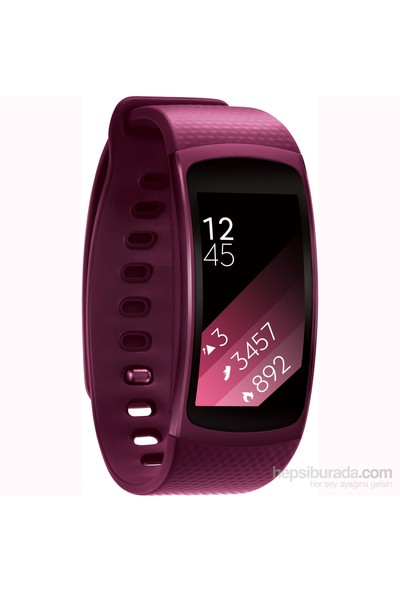Samsung Gear Fit 2 Pink (Android ve iPhone Uyumlu)