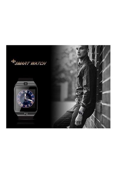 Akıllı Saat Dz09 Akıllı Saat Hediyeli - Kahverengi