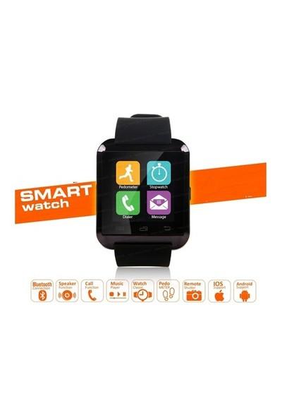 Berkev Akıllı Saat U8 Akıllı Saat Türkçe - Siyah