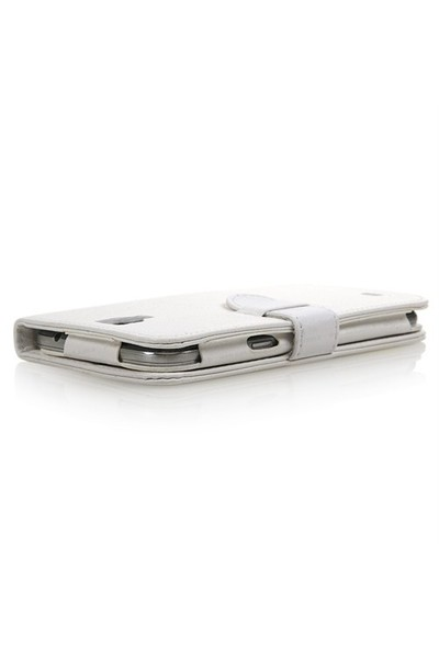 Dark Evo P60 Beyaz Suni Deri Kılıf (DK-AC-EVOP60KL2W)