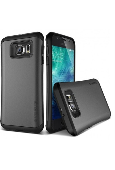 VERUS Samsung Galaxy S6 Kılıf Verus Hard Drop Thor Steel Silver