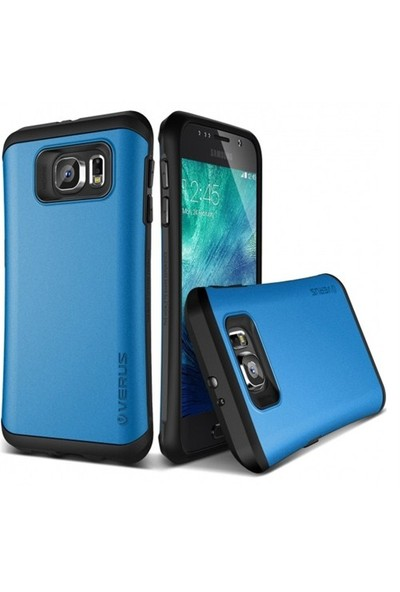 VERUS Samsung Galaxy S6 Kılıf Verus Hard Drop Thor Electric Blue