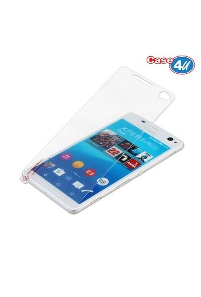 Case 4U Sony Xperia C4 Cam Ekran Koruyucu