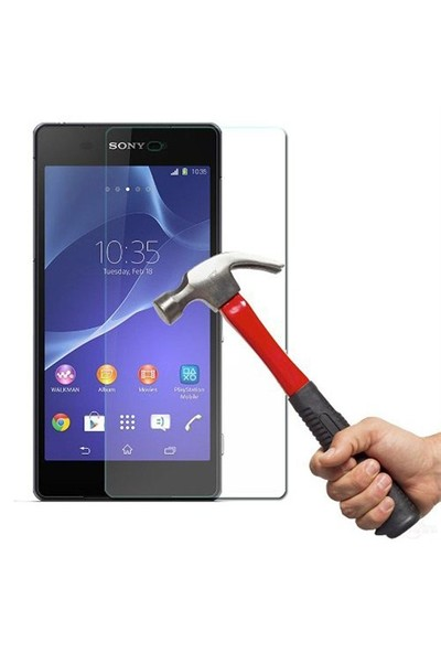 EBOX Sony Z2 Temperli Cam Ekran Koruyucu
