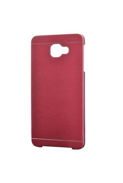 Gpack Samsung Galaxy A9 2016 Kılıf A9000 Sert Kapak Motomo - Kırmızı