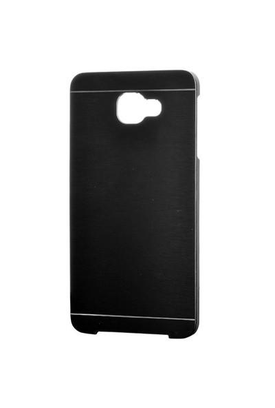 Gpack Samsung Galaxy A9 2016 Kılıf A9000 Sert Kapak Motomo - Siyah