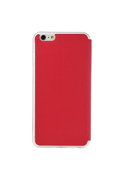 TSTM İphone 6 Tstm Kılıf Pencereli Kırmızı
