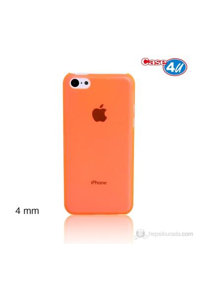 Case 4U iPhone 5c Turuncu Kapak Ultra İnce 0,4 mm*