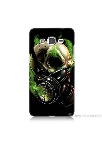 Teknomeg Samsung Galaxy Grand Prime Kapak Kılıf Ölüm Maskesi Baskılı Silikon