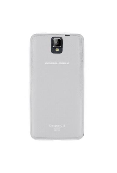 Gpack General Mobile Discovery 2 Kılıf 0.2Mm Şeffaf Silikon