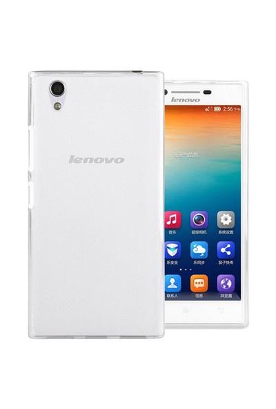 Microsonic Lenovo P70 Kılıf Transparent Soft Beyaz