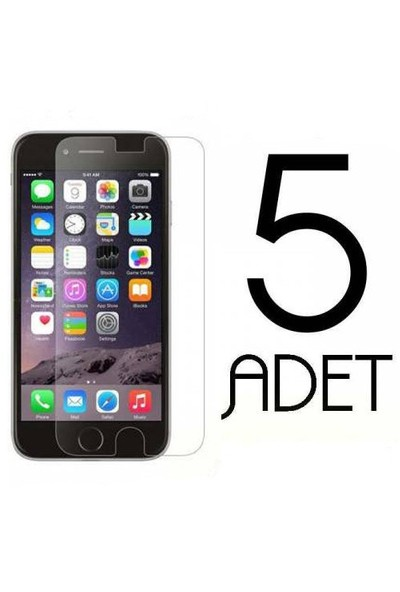 Coverzone Apple İphone 6 6S Ekran Koruma Jelatin X5 Adet