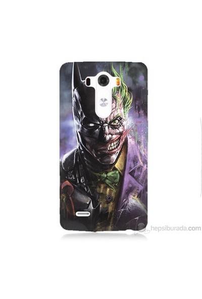 Teknomeg Lg G3 Kapak Kılıf Joker Vs Batman Baskılı Silikon
