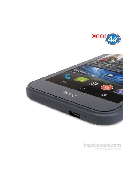 Case 4U HTC Desire 320 Ultra Şeffaf Ekran Koruyucu