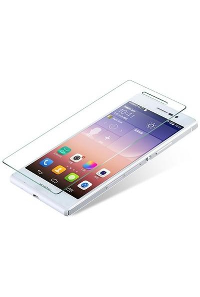CoverZone Huawei Ascend P7 Temperli Cam Filmi