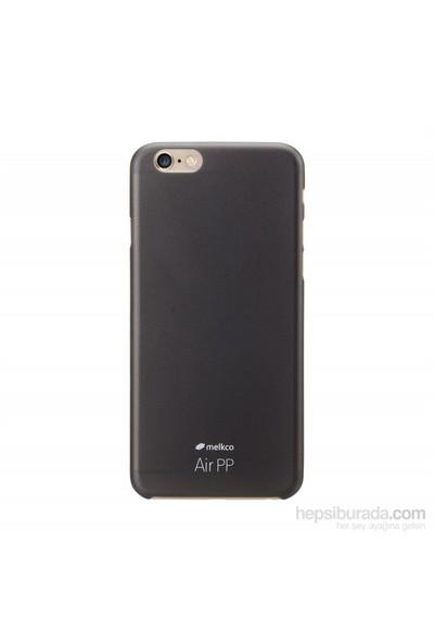 Melkco Air Pp Apple İphone 6 Plus (6S Plus Uyumludur) Siyah Kılıf