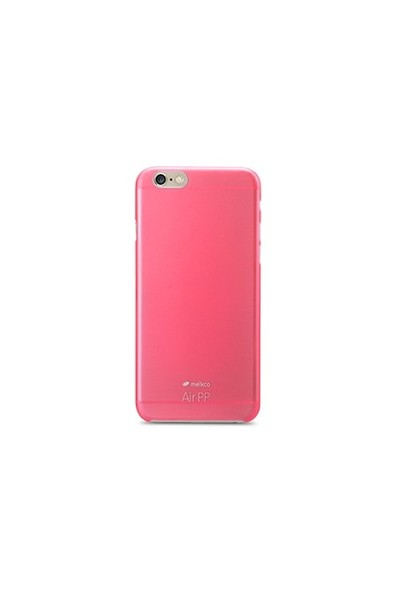 Melkco Air Pp Apple İphone 6 Plus (6S Plus Uyumludur) Kırmızı Kılıf