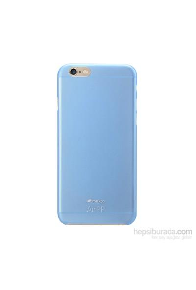 Melkco Air Pp Apple İphone 6 Plus (6S Plus Uyumludur) Mavi Kılıf
