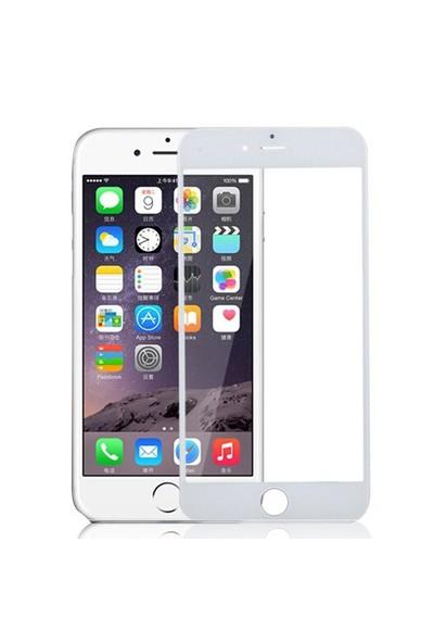 Bufalo Apple iPhone 6 Plus Beyaz Renk Cam Ekran Koruyucu