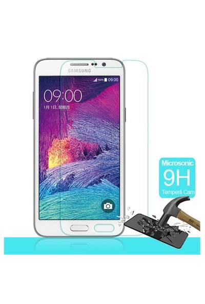 Microsonic Samsung Galaxy Grand Max Temperli Cam Ekran Koruyucu Film