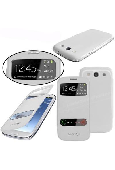 Markaawm Samsung Galaxy S3 Kılıf Flip Cover