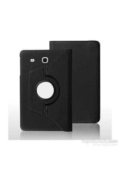 İdealtrend Samsung Galaxy Tab 3 Lite T113 360 Dönebilen Kırmızı Stand Kılıf